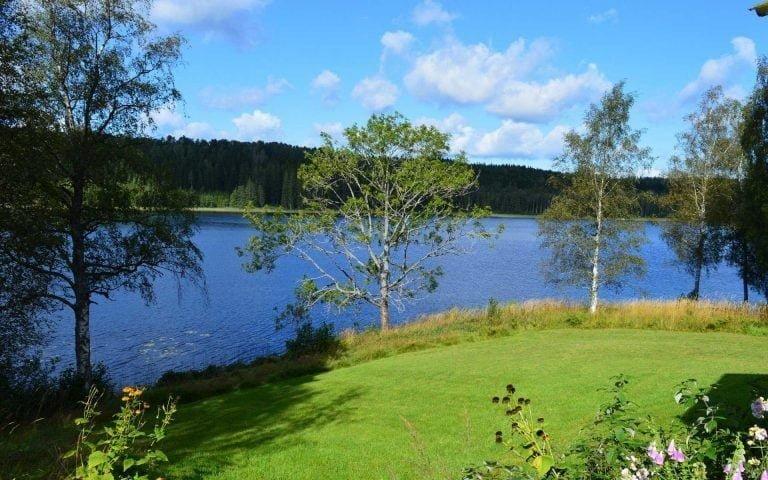 Utsikt från vår Dalslandsstuga