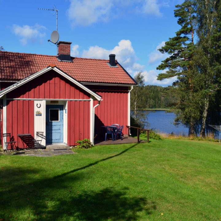 Dalsland Cottage Front entrance